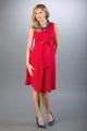 Těhotenské šaty BEBEFIELD - Lauren Red