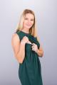 Těhotenské šaty BEBEFIELD - Thea Pine