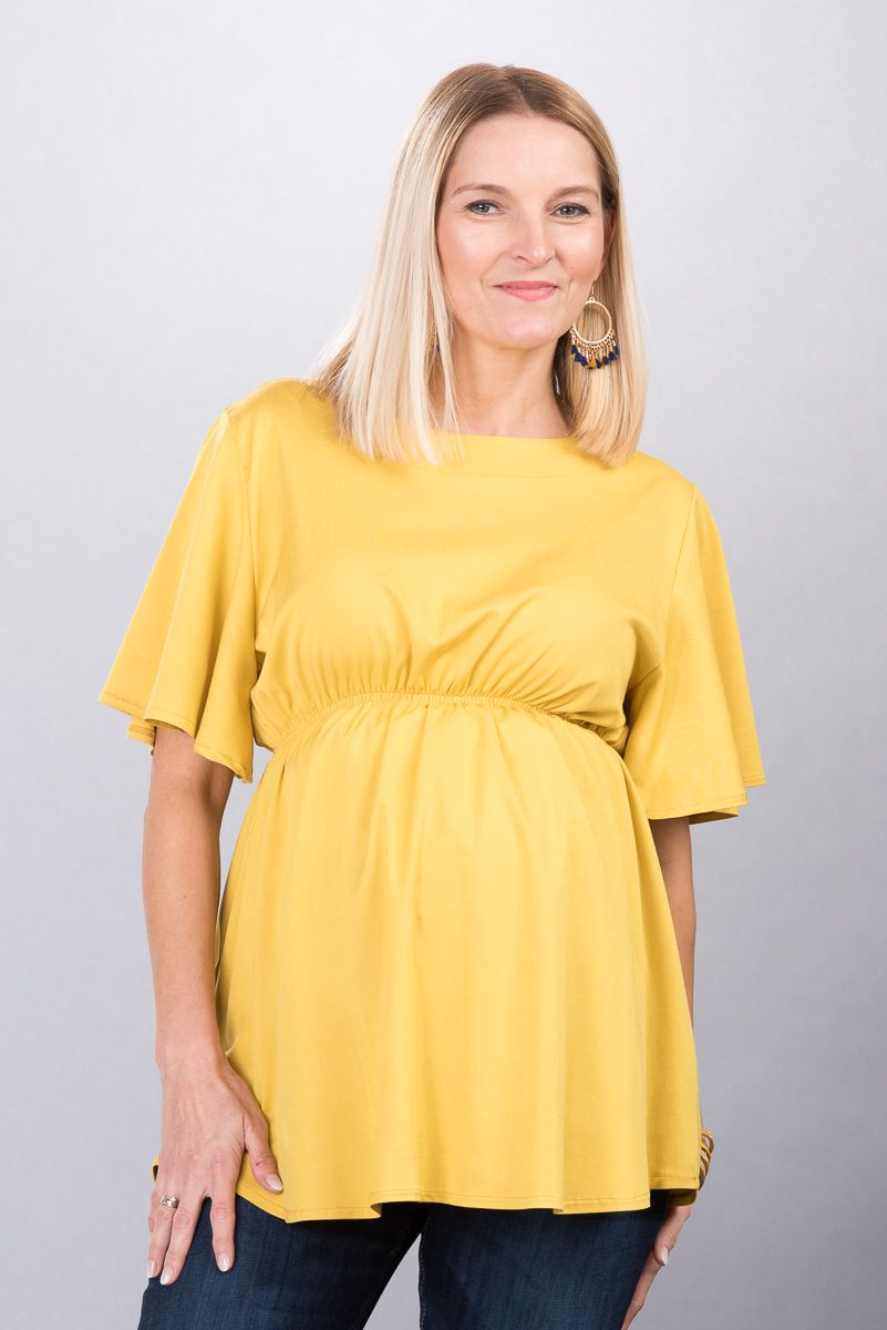 Těhotenská halenka BEBEFIELD - Erin