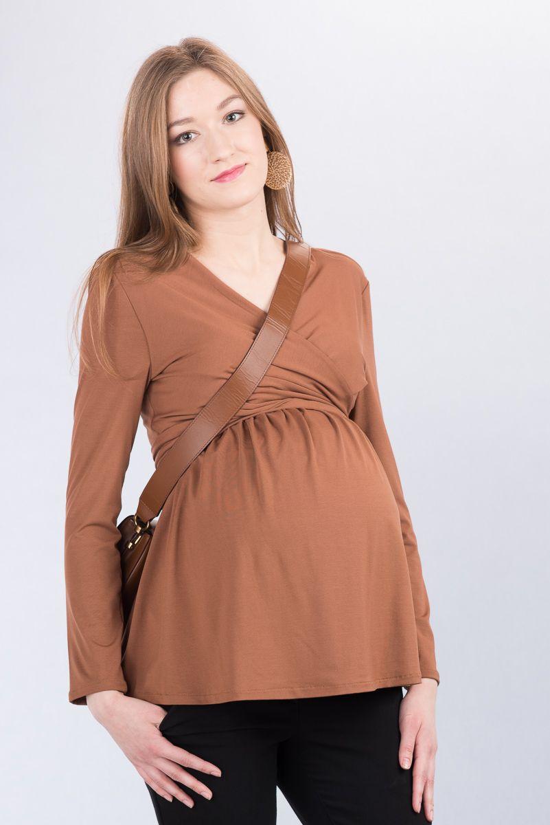 Těhotenská halenka BEBEFIELD - Fabienne Cinnamon