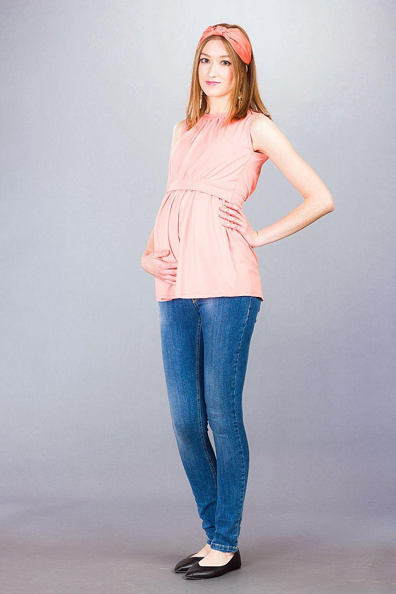 Těhotenská halenka BEBEFIELD - Mina Papaya - Velikost 40