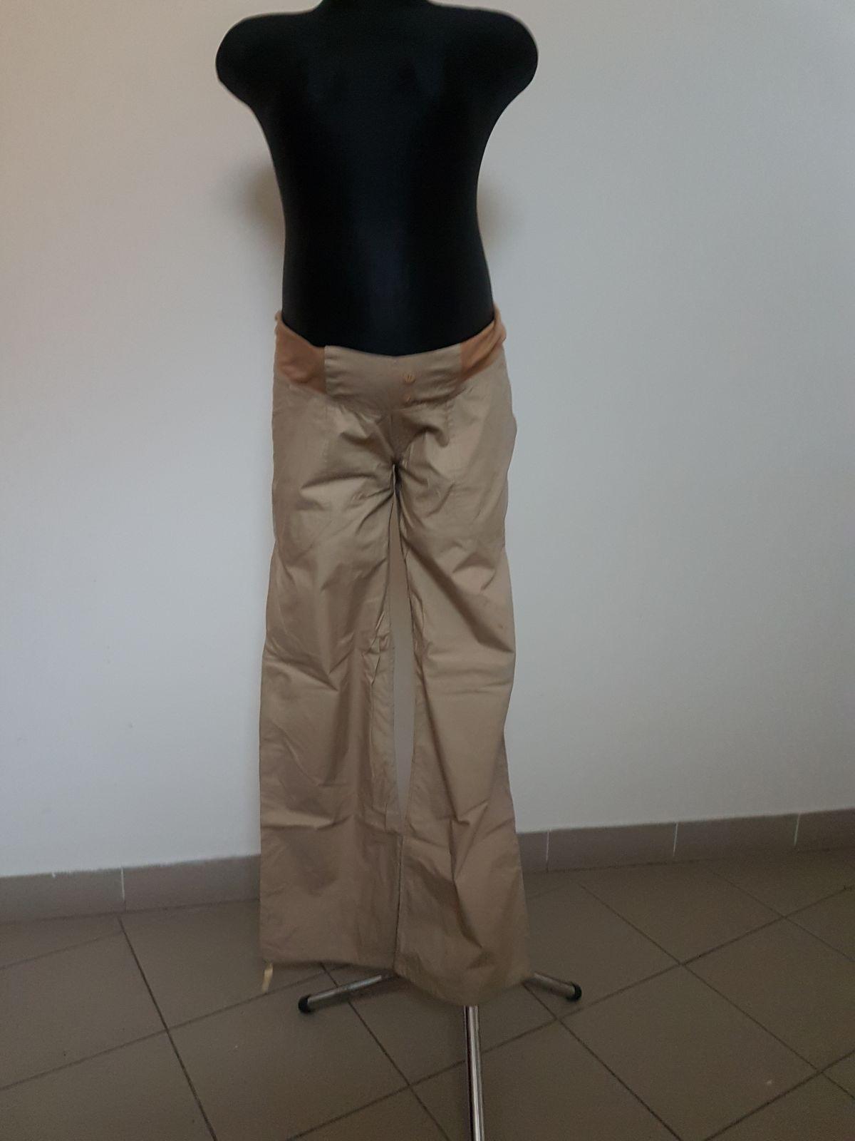 Těhotenské kalhoty BEBEFIELD - Cairo Sand