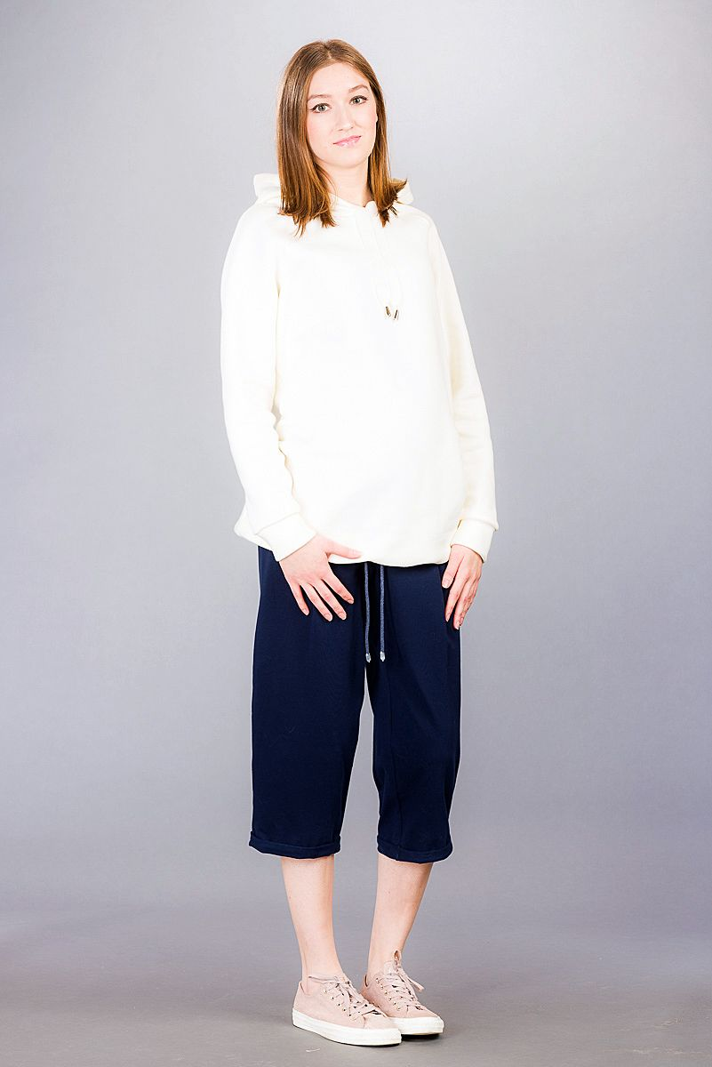 Těhotenské kalhoty BEBEFIELD - Marcello Navy