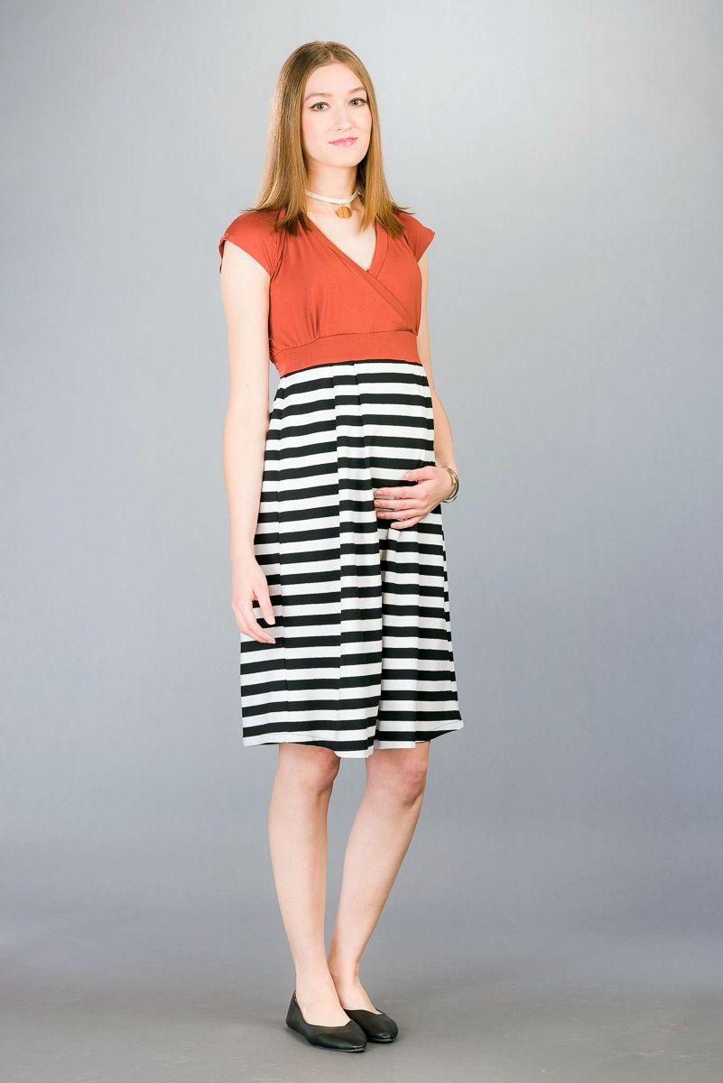Těhotenské šaty BEBEFIELD - Alicia Rusty