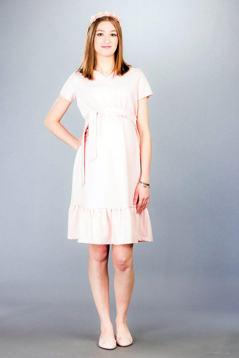 Těhotenské šaty BEBEFIELD - Arabella Blush