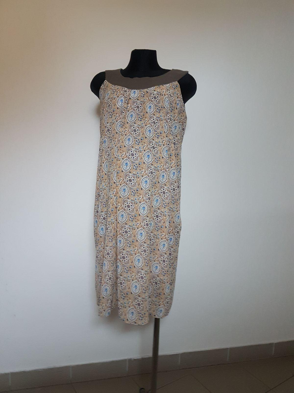 Těhotenské šaty BEBEFIELD - Clementine - Velikost 38