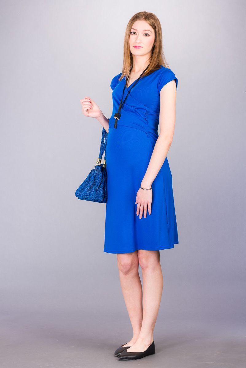 Těhotenské šaty BEBEFIELD - Florentina Blue