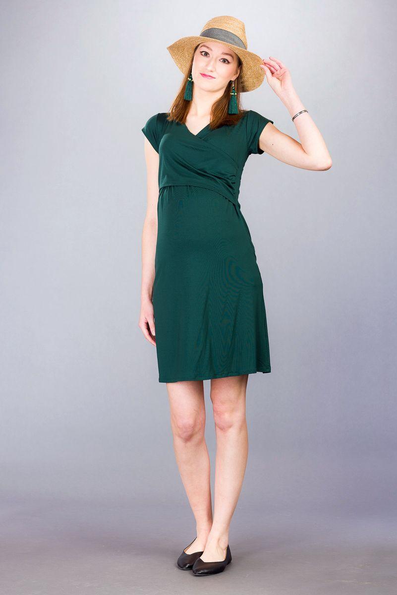 Těhotenské šaty BEBEFIELD - Florentina Pine