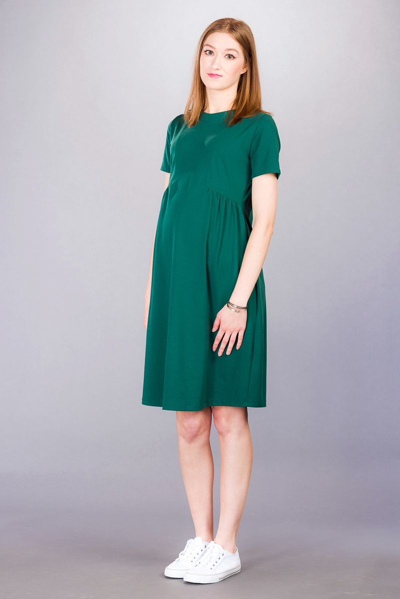 Těhotenské šaty BEBEFIELD - Marcia Green