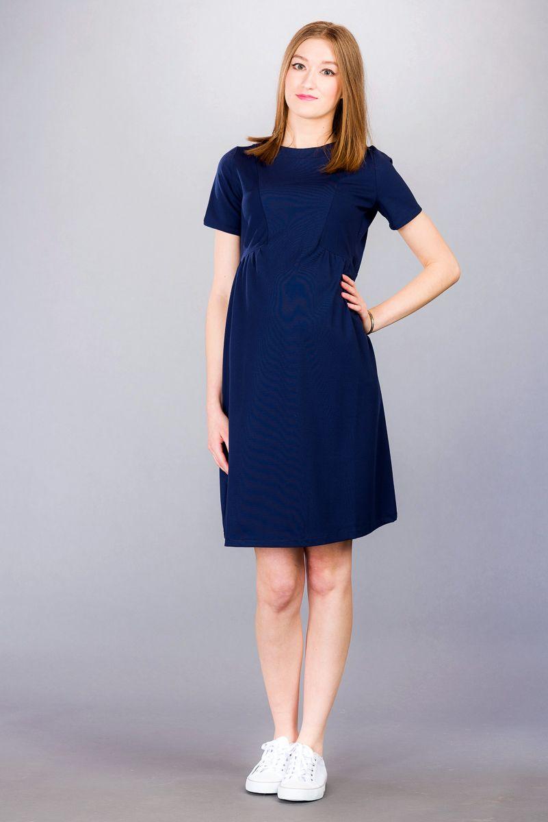 Těhotenské šaty BEBEFIELD - Marcia Navy