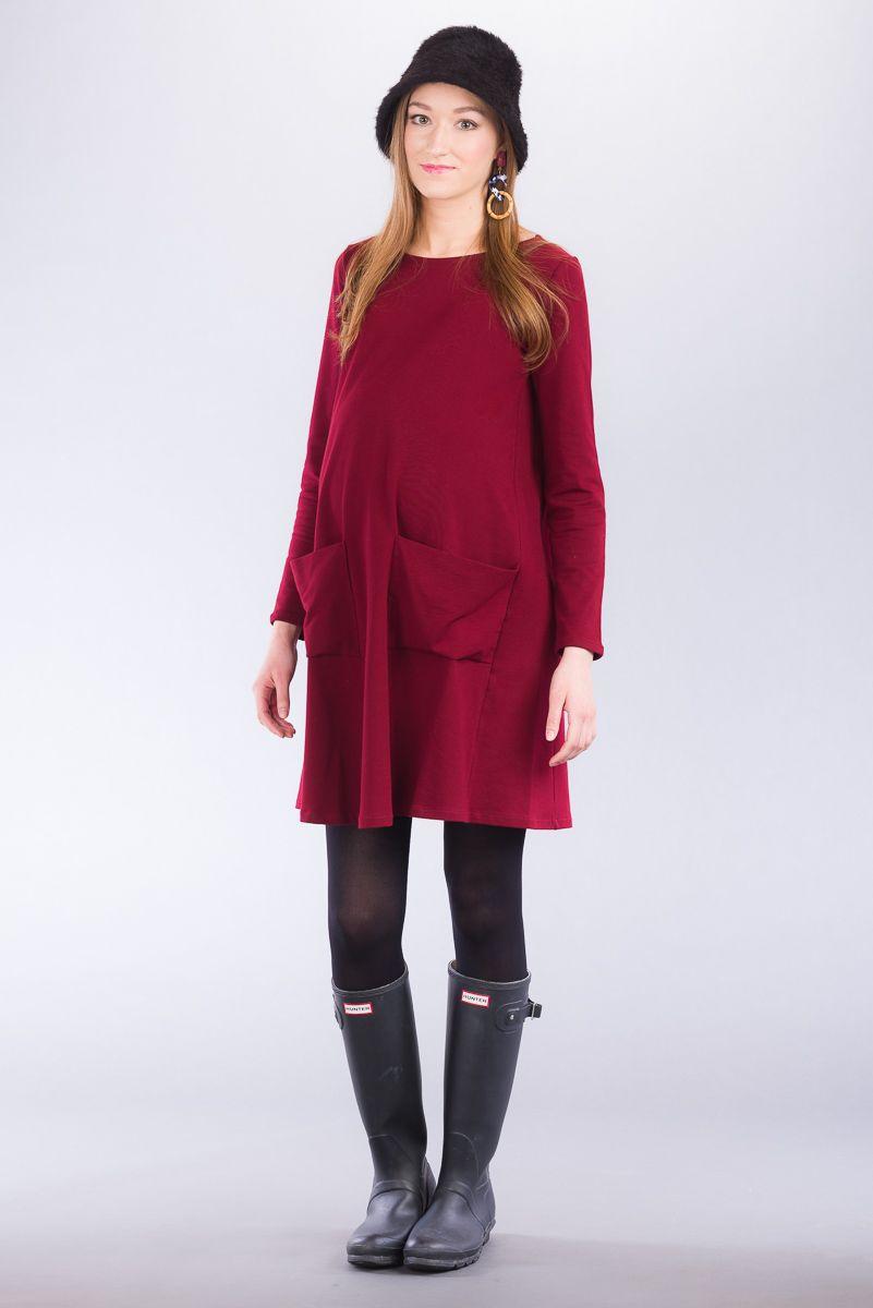Těhotenské šaty BEBEFIELD - Nyla