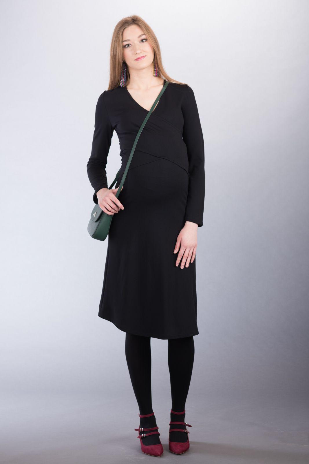 Těhotenské šaty BEBEFIELD - Paola Black