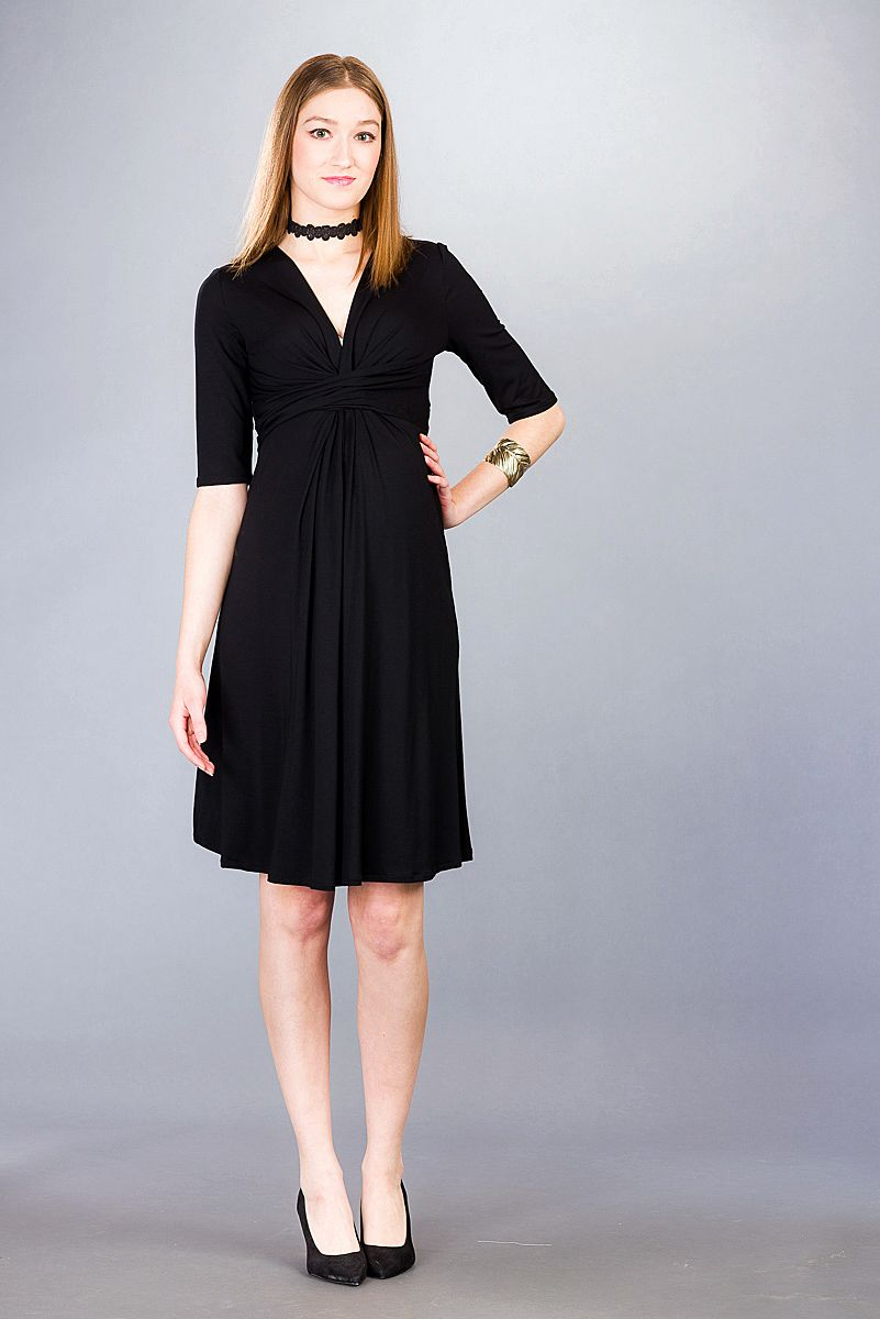 Těhotenské šaty BEBEFIELD - Paulina Black