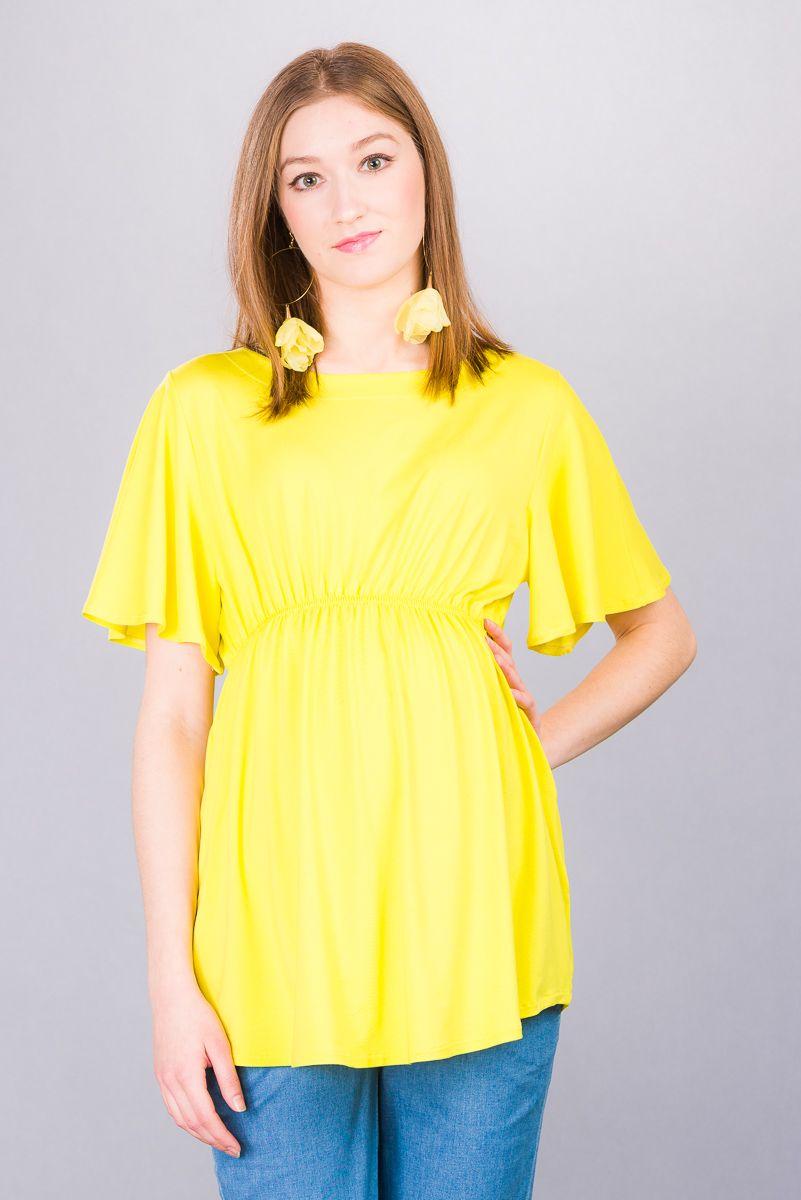 Těhotenská halenka BEBEFIELD - Tuva Lemon