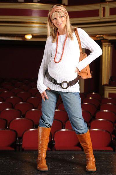 Těhotenské kalhoty BEBEFIELD - New York Jeans