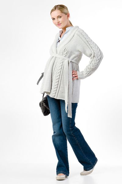 Těhotenské kalhoty BEBEFIELD - Perfect Jeans