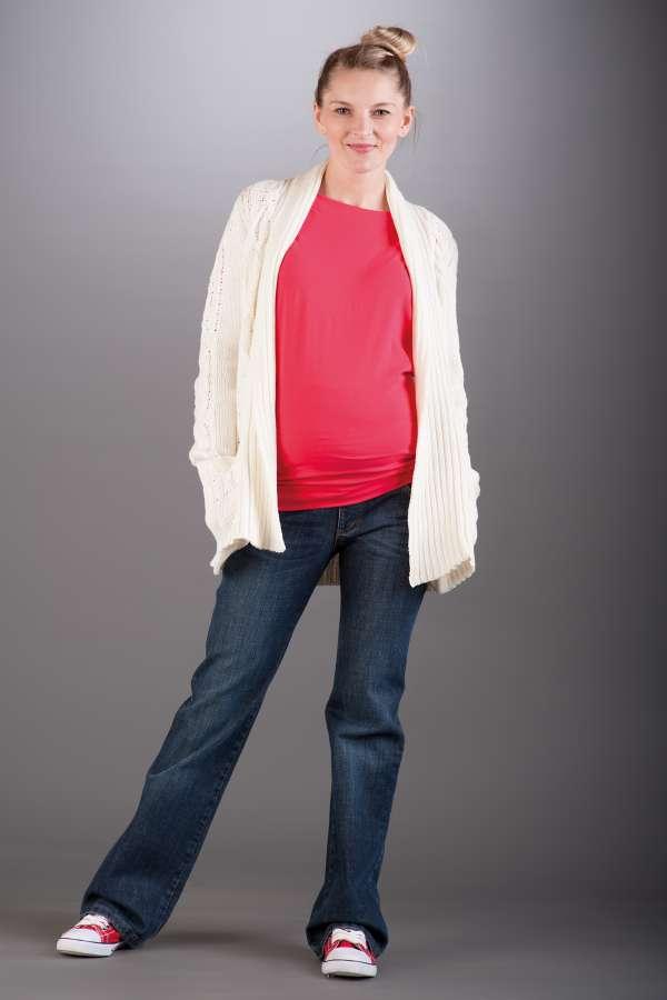 Těhotenské kalhoty BEBEFIELD - Brooklyn Navy Jeans
