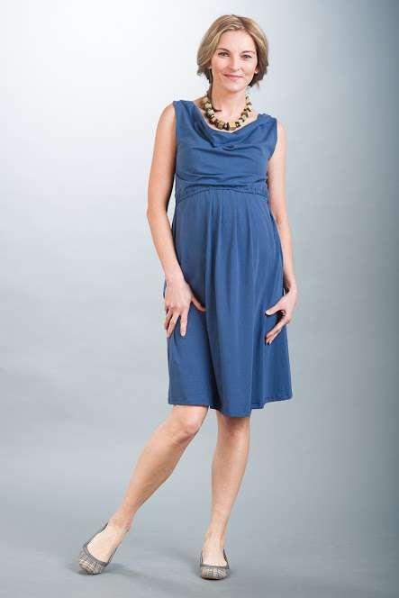 Těhotenské šaty BEBEFIELD - Mia Jeans