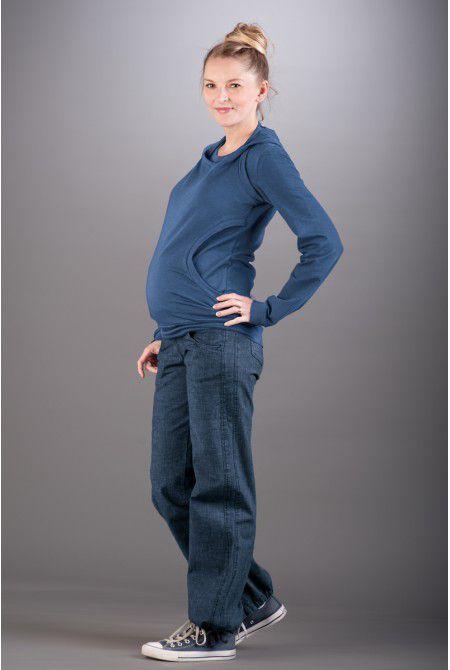 Těhotenské kalhoty BEBEFIELD - Queens Jeans