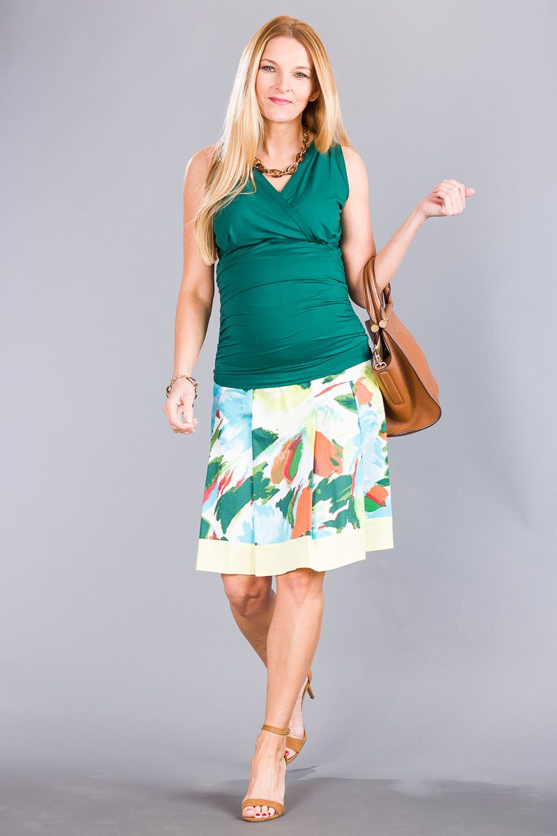 Těhotenská sukně BEBEFIELD - Magnolia