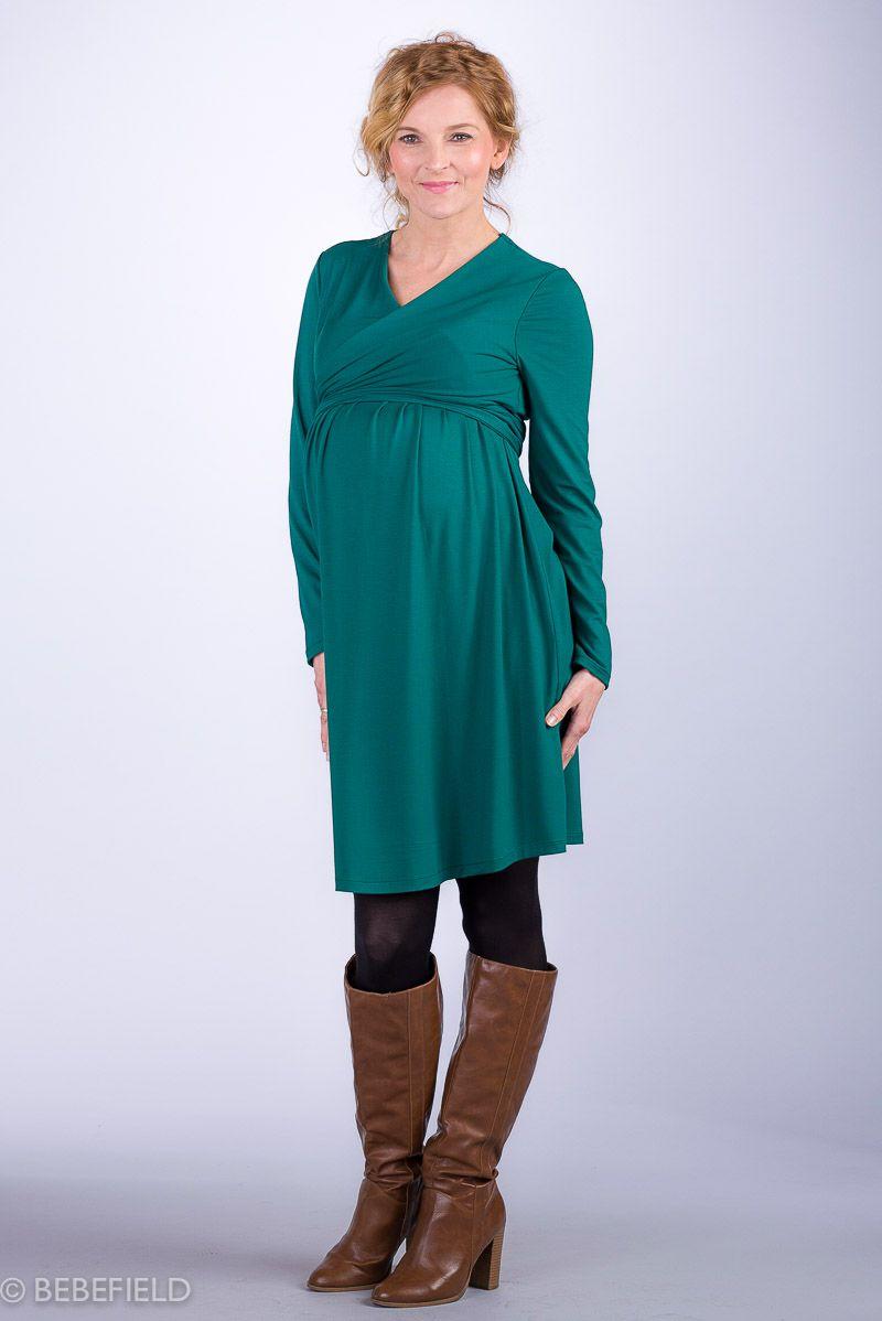 Těhotenské šaty BEBEFIELD - Julianna Green
