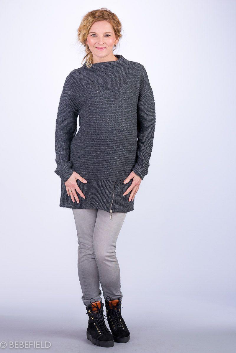 Těhotenský svetr BEBEFIELD - Alexandra