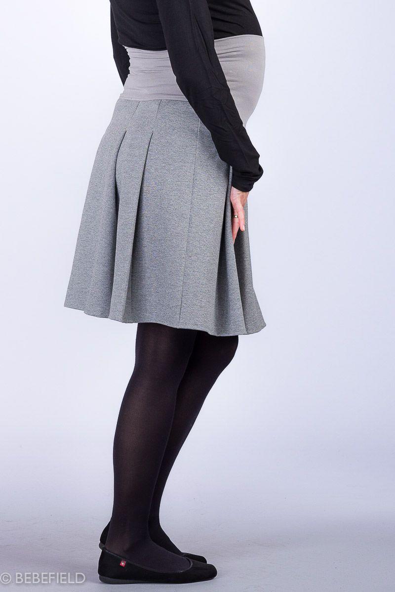 Těhotenská sukně BEBEFIELD - Ida Grey