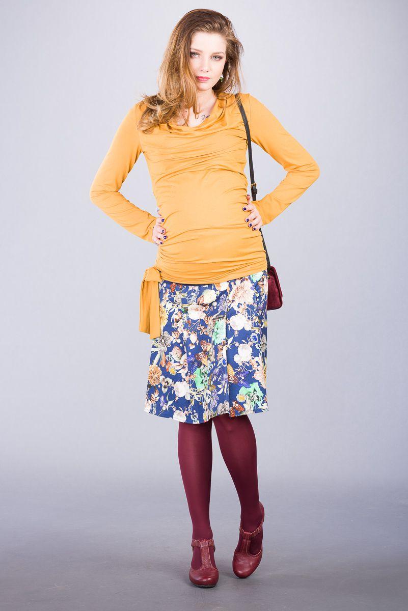 Těhotenská sukně BEBEFIELD - Marina