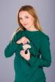 Těhotenská tunika BEBEFIELD - Myriam Green