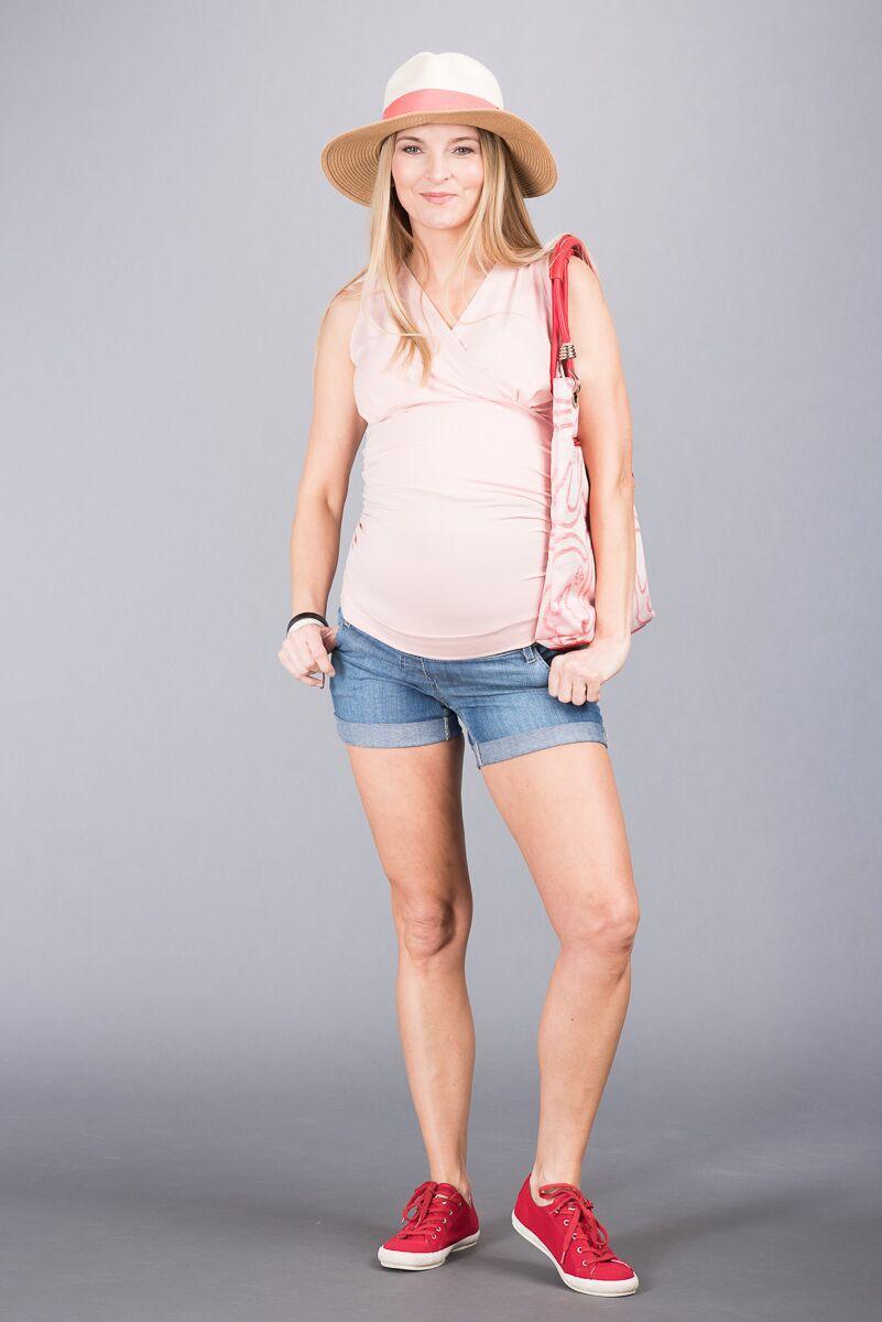 Těhotenské kalhoty BEBEFIELD - Sorrento Jeans