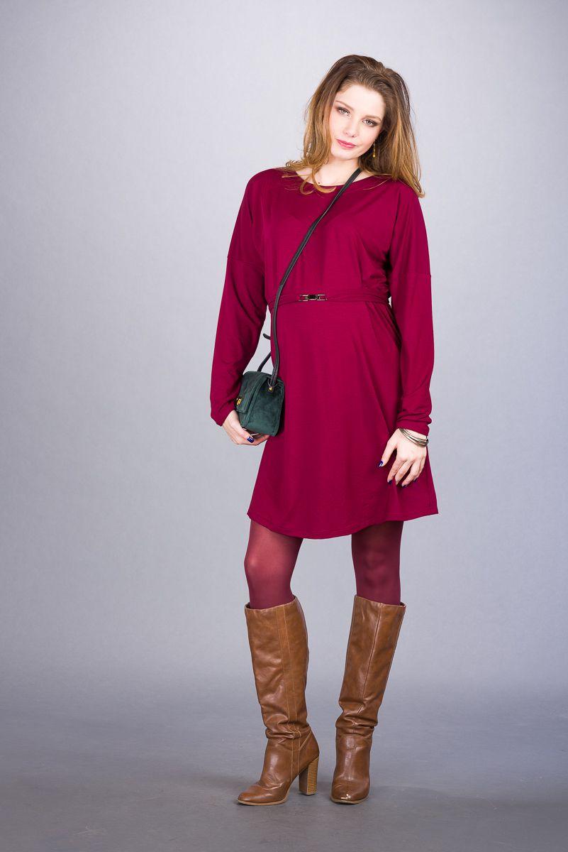Těhotenské šaty BEBEFIELD - Mara Claret