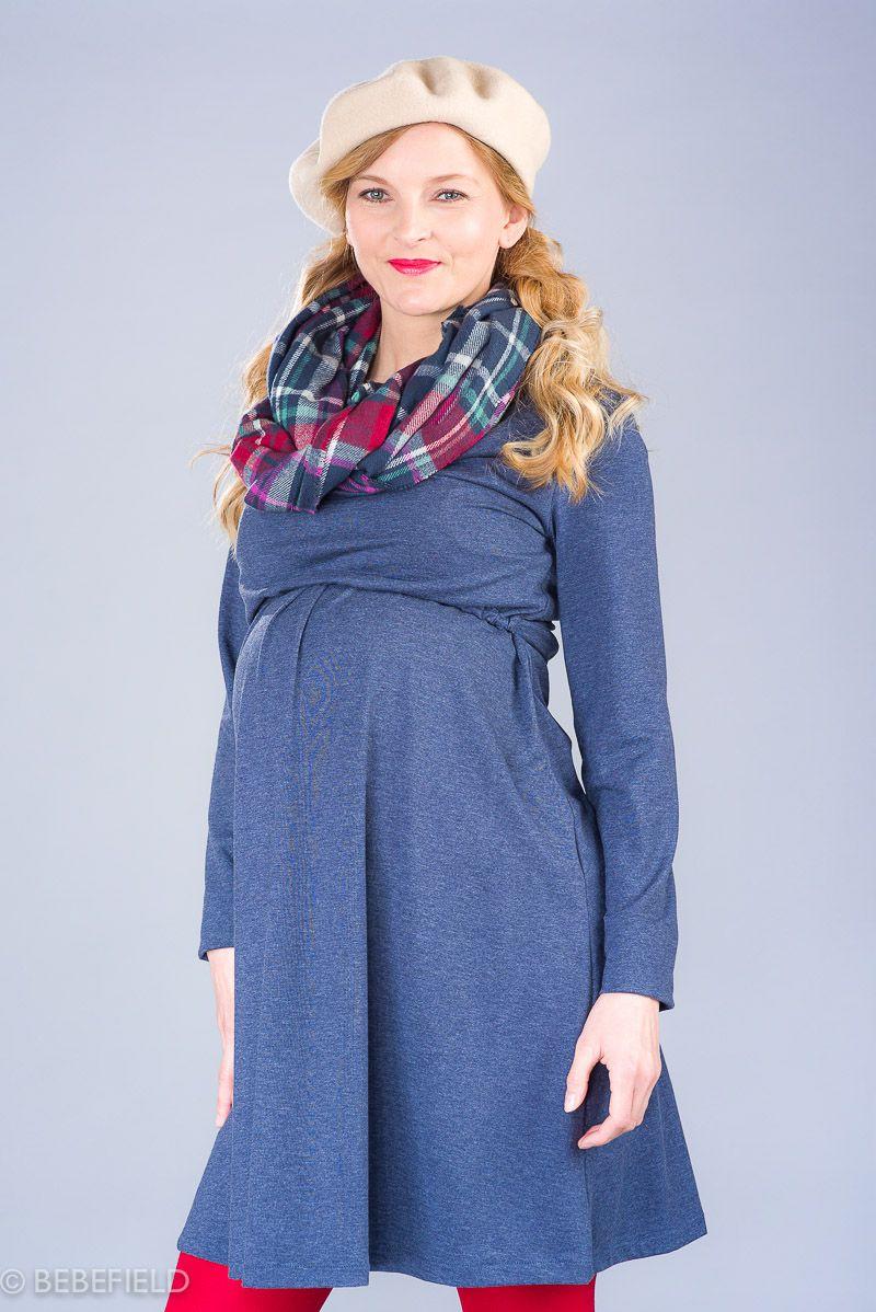 Těhotenské šaty BEBEFIELD - Sienna Jeans